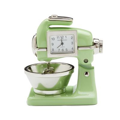 Miniature Mixer Clock Light Green
