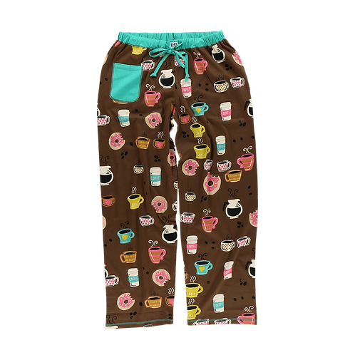 Women's Coffee PJ Pants