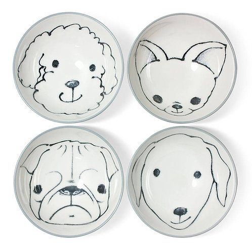 Puppy Love Rice Bowl Set