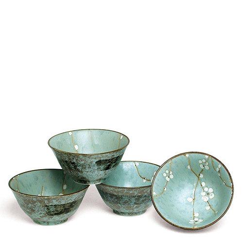 Zen Blossom Flared Bowl Set