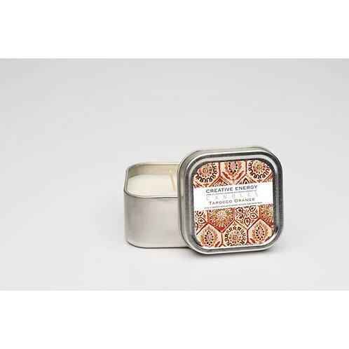 Mini Lotion Candle Tin Tarocco Orange