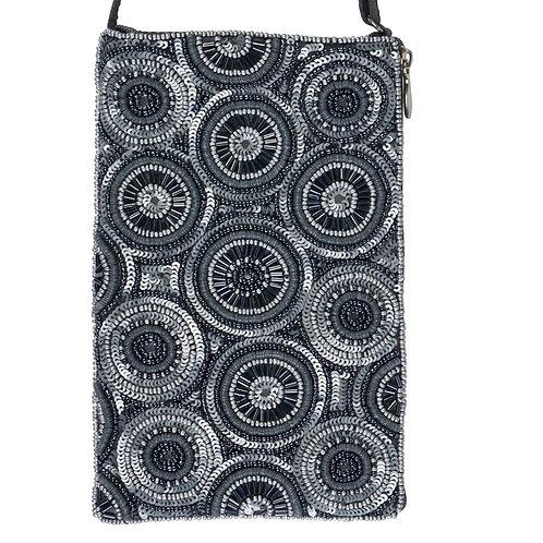 Kaleidoscope Beaded Phone Bag