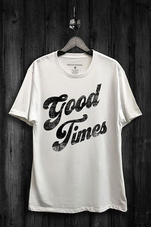 Good Times Shirt Ivory