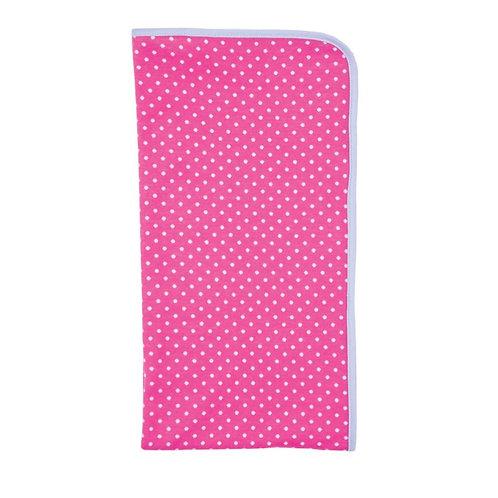 Pink Polka Dots Blanket