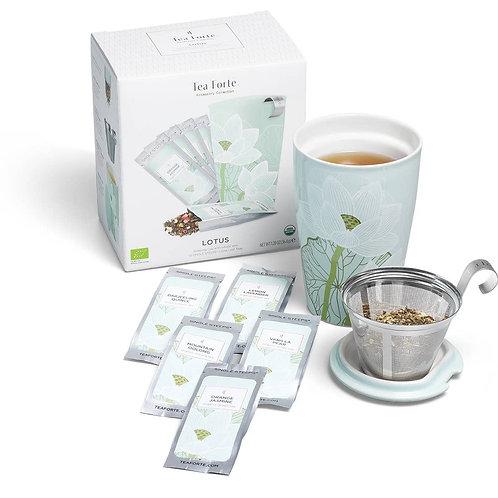 Lotus Mug and Tea Set