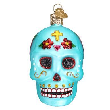 Sugar Skull Day of the Dead Ornament