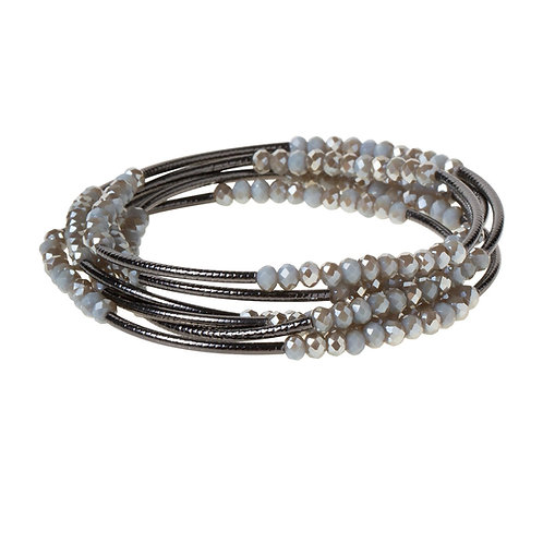 Night Black Wrap Bracelet