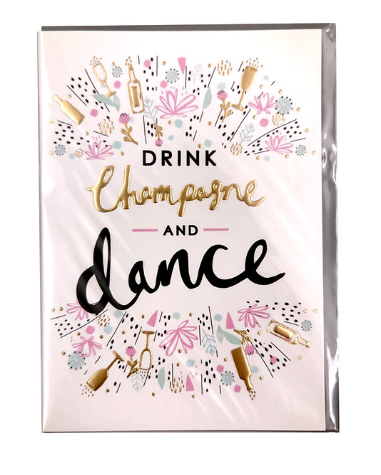Champagne and Dance Card