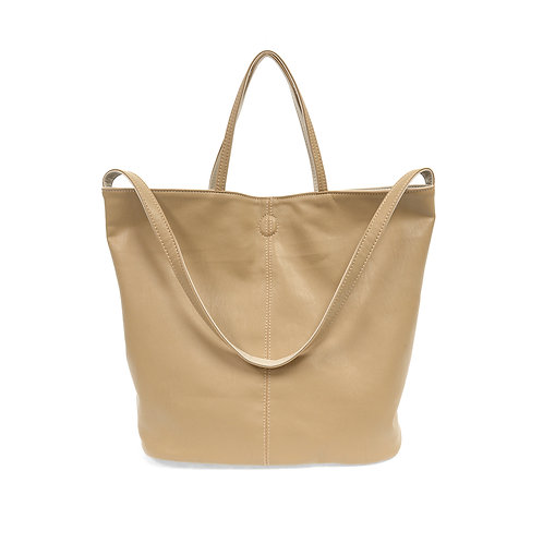 Camel Reversible Duo Tote Bag