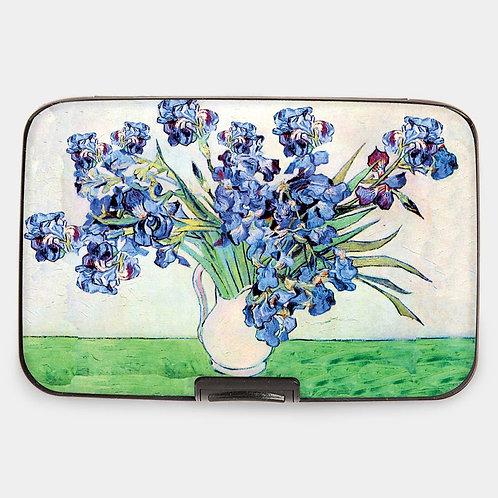Van Gogh - Irises In Vase Armored Wallet