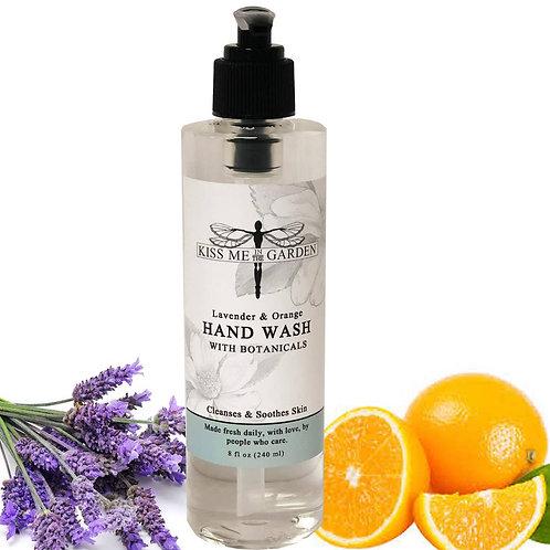 Lavender & Orange Hand Wash 8 oz