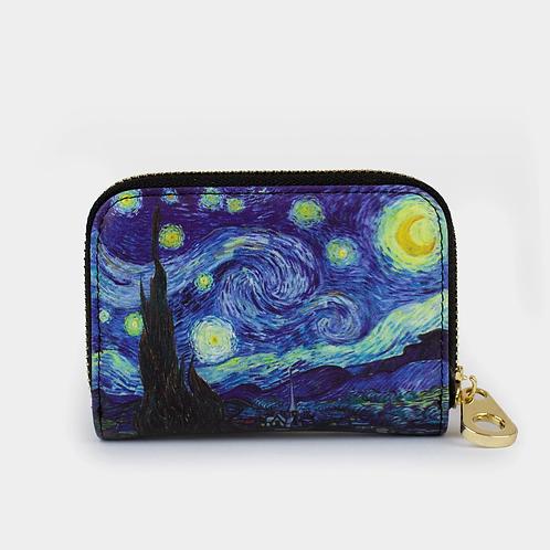Van Gogh - The Starry Night Zippered Wallet