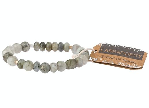 Labradorite Stone Bracelet - Stone of Magic
