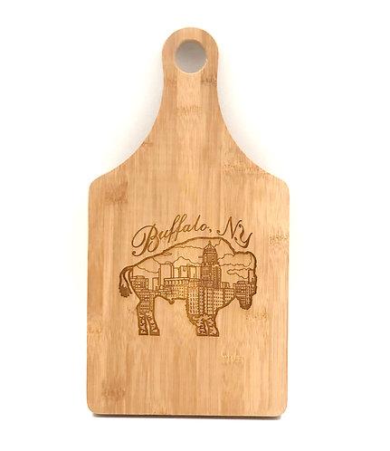 Buffalo N.Y Cutting Board w/ handle