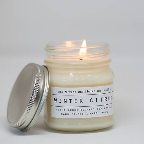 Winter Citrus Wassail Candle