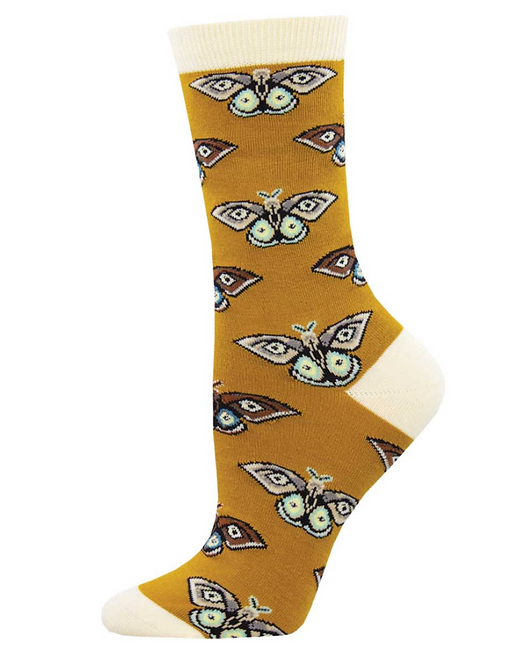 Yellow Moth Socks