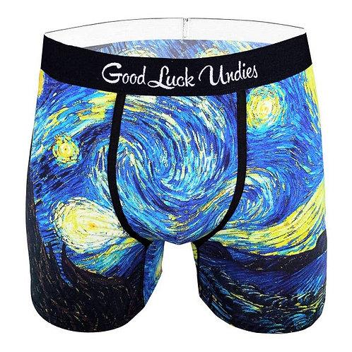 Men's Starry Night Underwear
