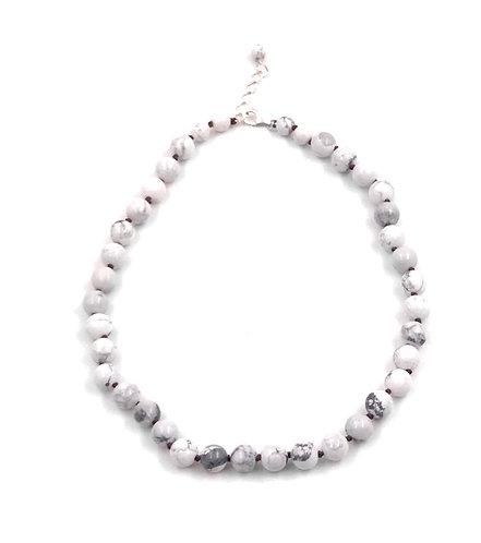 Howlite Choker Necklace