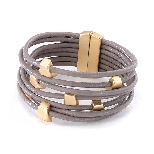 Block Bracelet Gold