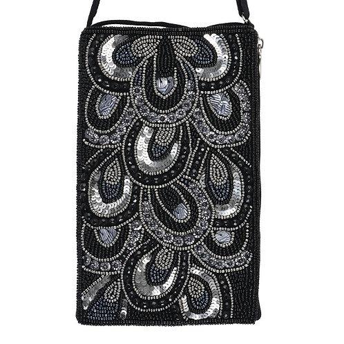 Sequin Shimer Beaded Phone Bag