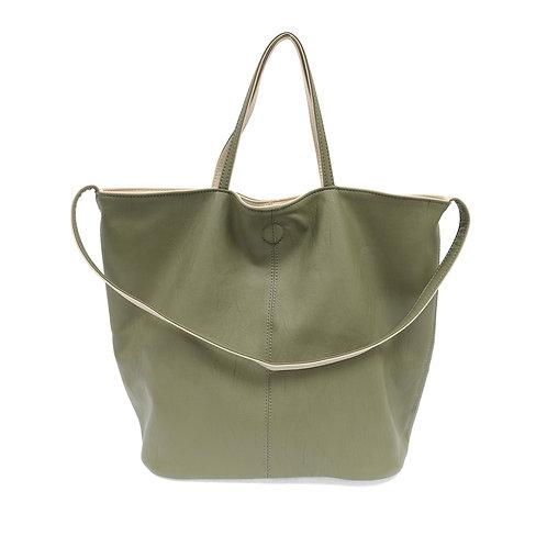 Sage Green Reversible Duo Tote Bag