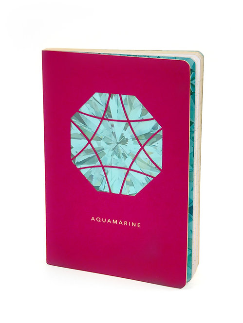 Aquamarine Mini Journal