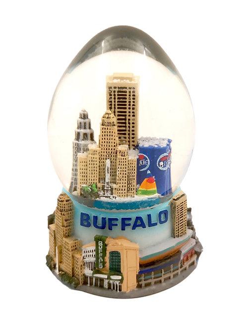 BFLO Snow Globe