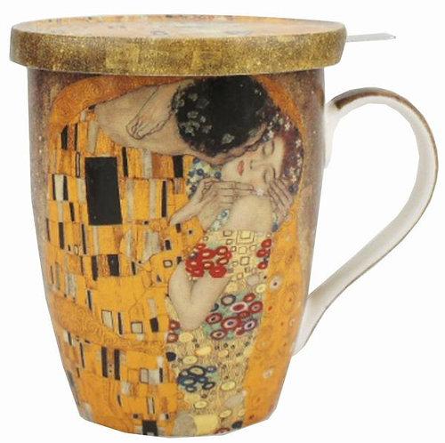 Klimt The Kiss Tea Mug