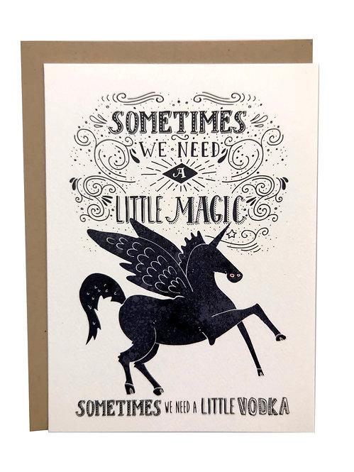 A Little Magic Card