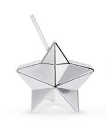 Star Drink Tumbler Silver