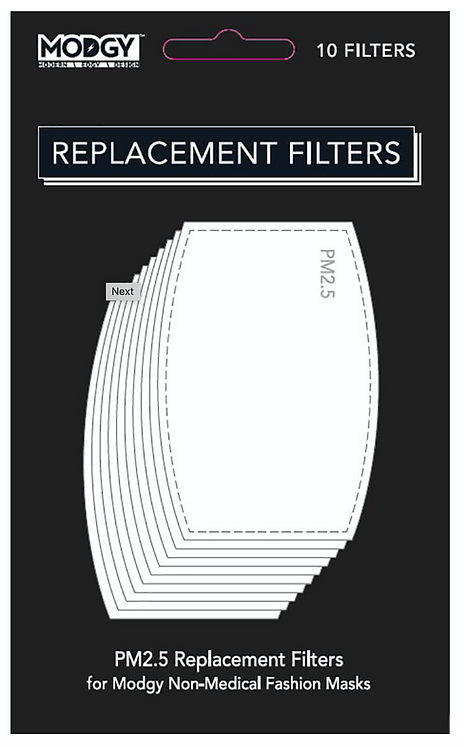 Modgy Mask Replacement Filters