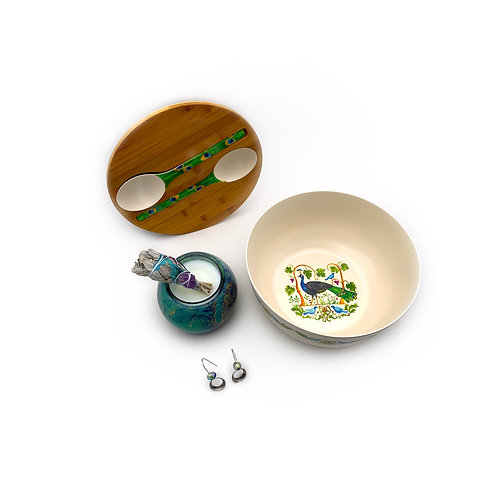 Peacocks and Paradise Gift Set