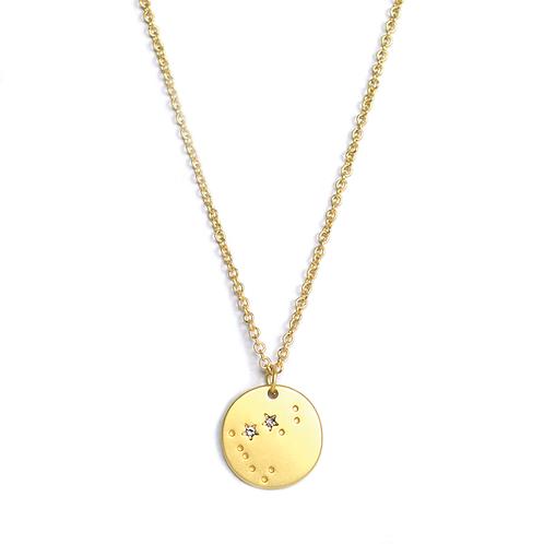 Gold Zodiac Necklaces