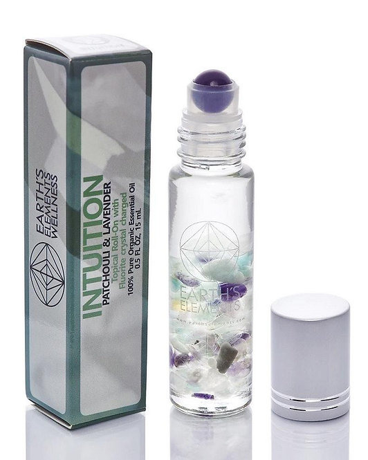 INTUITION Essential Oil Crystal Roll