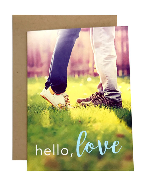 Hello, love Card