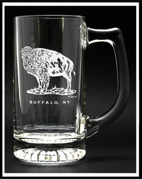 Buffalo Standing Beer Stein