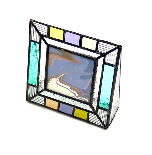 Stained Glass 3x3 Picture  Frame