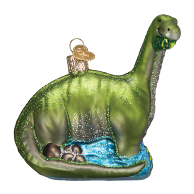 Brontosaurus Ornament