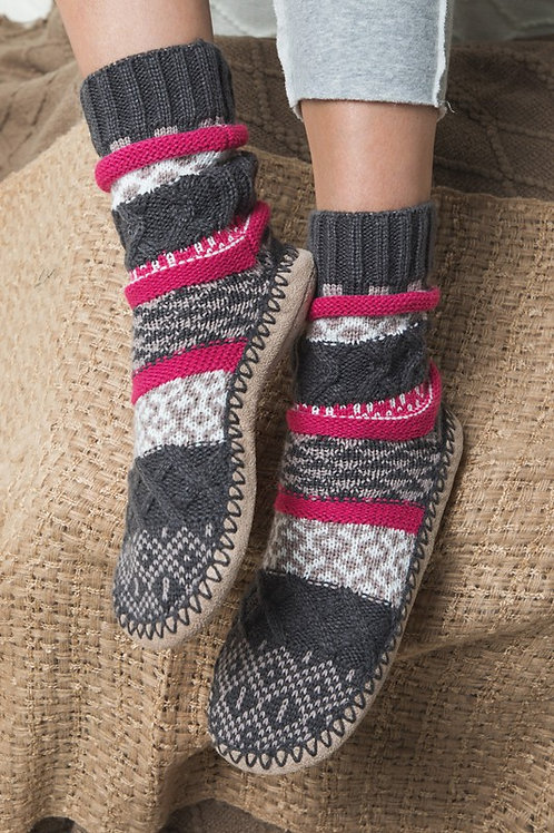 Nordic Slipper Sock Boot