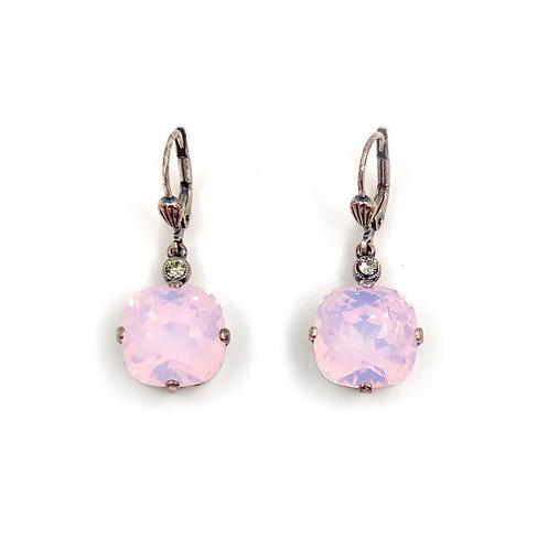 Swarovski Pink Opal Earrings