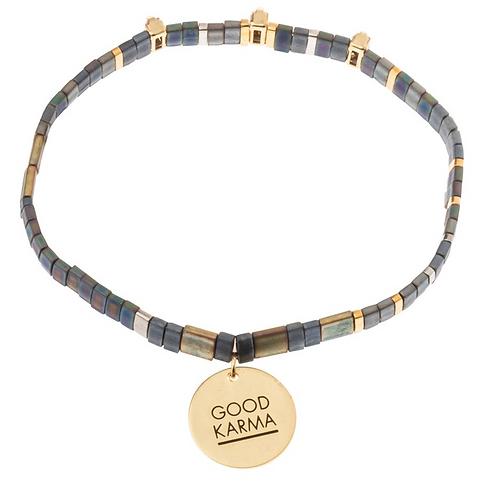 Good Karma Sparkle/Gold Bracelet