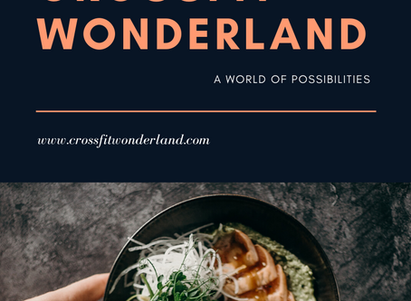 CROSSFIT WONDERLAND COOKING EBOOK vol.1