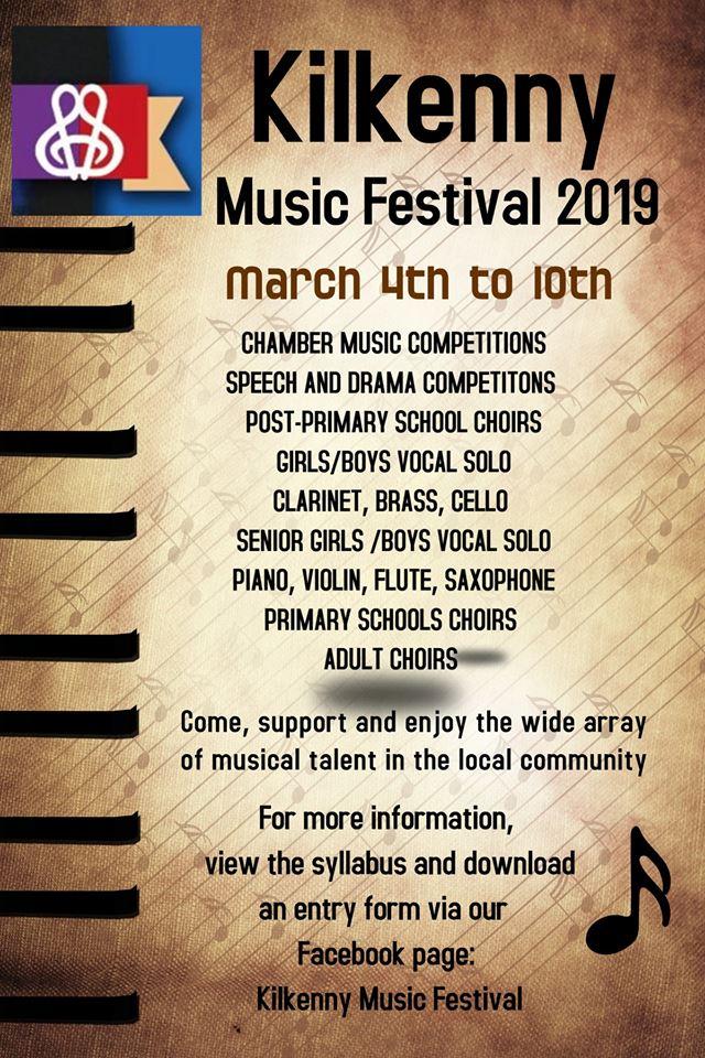 Kilkenny Music Festival Poster