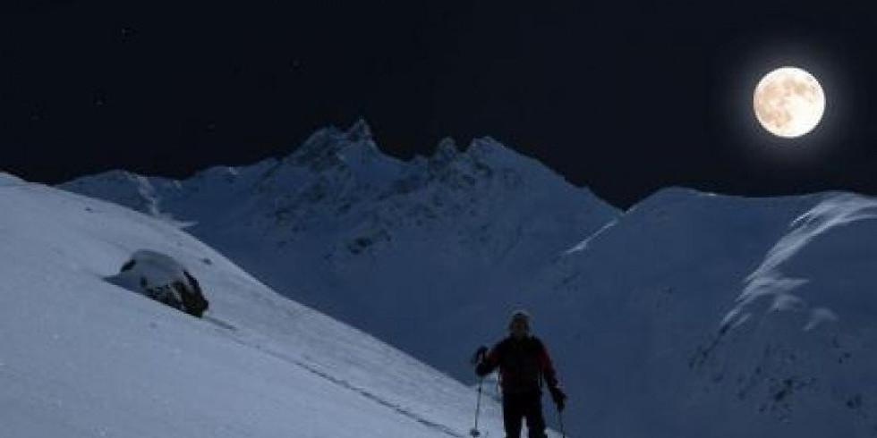 Vollmond-Schneeschuhwanderung