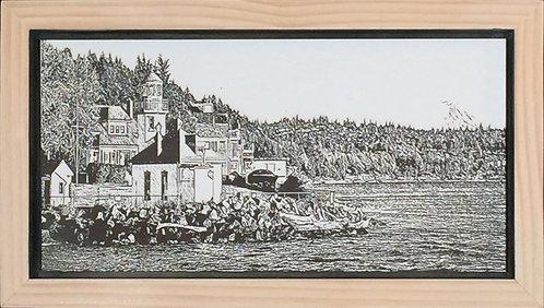 Alki Point Lighthouse 6x12