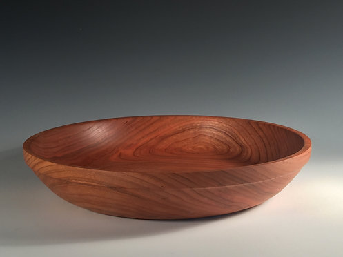 15 inch Cherry Bowl with a stabilized walnut oil finish