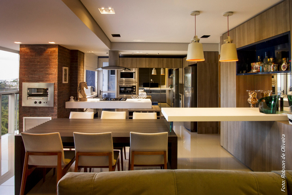 Apartamento projeto da arquiteta Maina