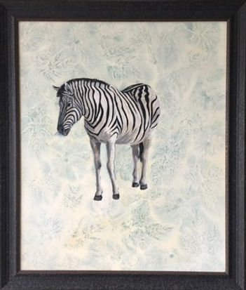 Botanical Zebra framed.jpg