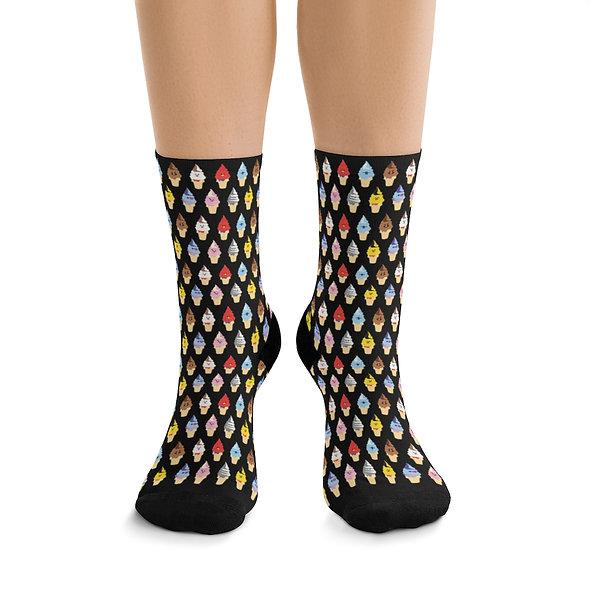 bts21 inspired Socks