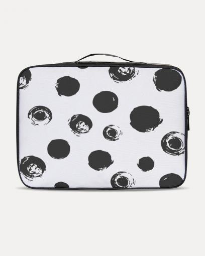 Black Dots Travel Case